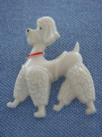 Poodle Dog Brooch 1950's - Vintage Pin on Original Card- 'Fifi the French Poodle' (SOLD)